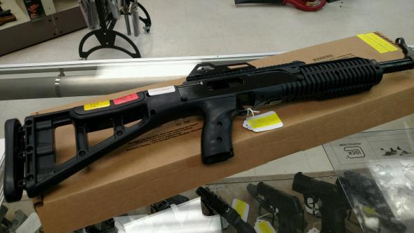 Hi-Point 995TS 9mm Carbine