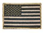 "Blackhawk American Flag Patch Tan/Black 2""X3"" 90DTFV"