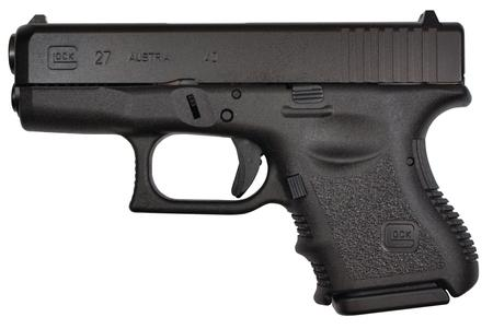 Glock G27 .40S&W Fixed Sights 9 Round