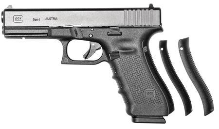 "Glock G17 Gen4 9mm 4.49"" 17+1 FS Modular Backstrap Blk"