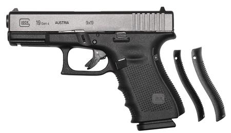 Glock G19 9MM Gen4 Fixed Sights 3-15rd Mags
