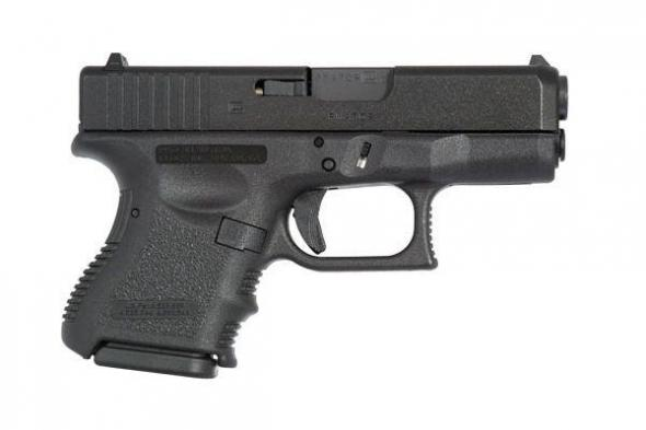 Glock G26 9MM Fixed Sights 10 Rounds