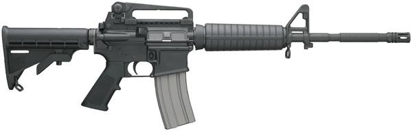 """Bushmaster M4 A3 Patrolman Carbines SA .223 Rem 16"""" 30+1 6 Pt Col Stk Black"""