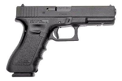 "Glock 17 Standard 9mm 4.49"" 17+1 w/FS Polymer Grip Matte Black"