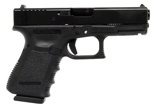 "Glock 19 Standard 9mm 4.02"" 15+1 w/Fixed Sights Polymer Grip Matte Black"