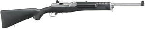"""Ruger 5805 Mini-14 Ranch SA 223 Rem/5.56 NATO 18.5"""" 5+1 Syn Stk Stainless Steel"""