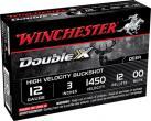 """Winchester Supreme Double X 12 ga 3"""" 12 Pellets 00 Buck Shot 5 Per Box"""