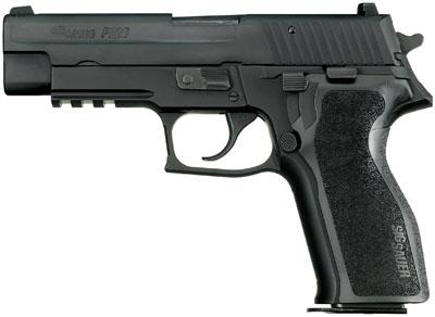"""Sig Sauer P226 DA/SA 9mm 4.4"""" 15+1 NS Black Ergo Grip Black"""