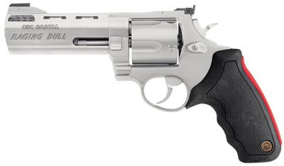"Taurus 454 Raging Bull 454 Casull 2.25"" 5rd Adj Sight Syn Grip Matte SS"