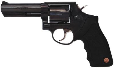 "Taurus Model 65 Standard 357 RemMag 4"" 6rd Fixed Sight Syn Grip Blue"
