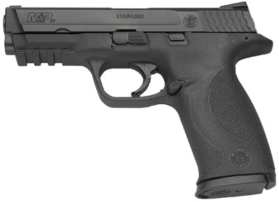 "Smith & Wesson M&P Full-Size 40 Smith & Wesson 4.25"" 15+1 Syn Grip Black Finish"
