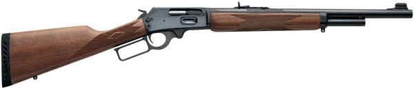 """Marlin 1895G Guide Gun Lever 45-70 Govt 18.5"""" 4+1 Walnut Stock Blued"""
