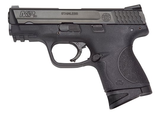 "Smith & Wesson M&P Compact 9mm 3.5"" 12+1 Syn Grips Black Finish"