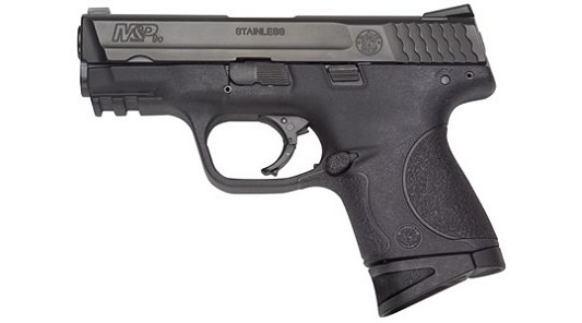 """Smith & Wesson M&P Compact *MA Compliant* 40 Smith & Wesson 3.5"""" 10+1 Syn Grip Black Stainless"""