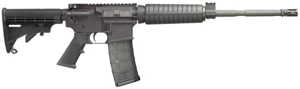 "Smith & Wesson M&P 15 Optics Ready Semi-Auto .223 Rem 16"" 30+1 6 Pt Col Stk Black"