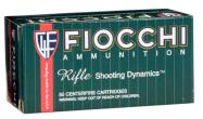 Fiocchi Full Metal Jacket 223 Rem/5.56 Nato FMJ Boat-Tail 62 GR 50 Box