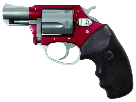 """Charter Arms Undercover Lite 38 Special 2"""" 5rd Black Rubber Grip Red/SS"""