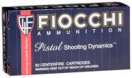 Fiocchi Pistol Shooting 9mm Full Metal Jacket 147 GR 50Box