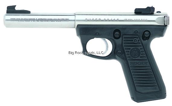"""RUG 22/45 MKIII 22 LR 5.5"""" Bull Barrel Adjustable Sights"""