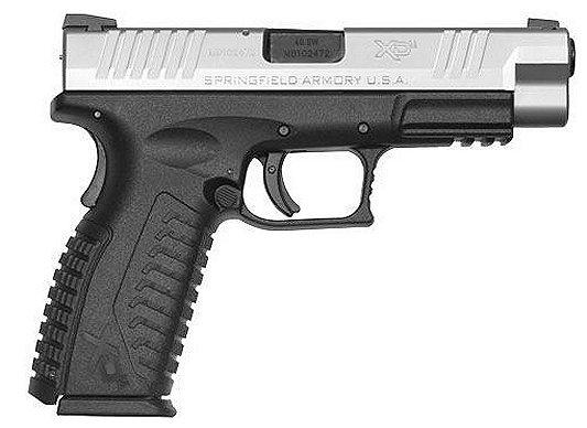 "Springfield Armory XDM 4.5"" Standard 9mm 4.5"" 19+1 Syn Grip Blk/SS"