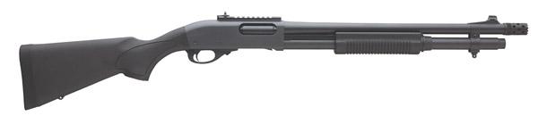 "Remington 870 Pump 12 Gauge 3"" 6+1 18.5"" Barrel Synthetic"