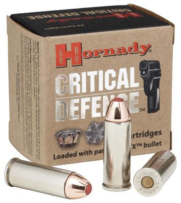 Hornady Critical Defense 9mm Flex Tip Expanding 115 Grain 25 Box