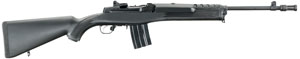 """Ruger 5848 M-15/5GBCPC Mini-14 Tactical Auto Rifle 223 Rem 16"""" Blue G Ring Blk Syn 5 Rnd State Laws Appl"""
