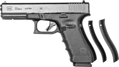 "Glock  G22 Gen4 .40S&W 4.49"" 15+1 w/Fixed Sights Polymer Grip Matte Blk"