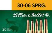 Sellier & Bellot 30-06 Spg Soft Point 180 GR 20Box