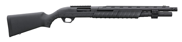 "Remington 887 Pump 12 ga 18.5"" 3.5"" Black Synthetic Black"
