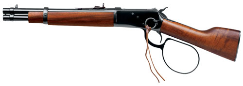 """Rossi Ranch Hand Loop Lever .45 Long Colt 12"""" 6+1 w/Ring Hardwood Grip Blued"""