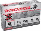 "Winchester Super X Buckshot 12 ga 2.75"" 9 Pellets 00 Buck Shot 5Box"
