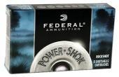 """Federal Power Shok Buckshot 12 ga 2.75"""" 9 Pellets 00 Buck Shot 5Bx"""