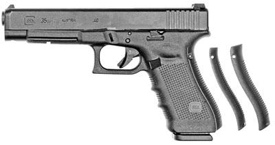 "Glock 35 Gen4 .40S&W 5.32"" 10+1 w/Adjustable Sights Black Syn Grip Blk"