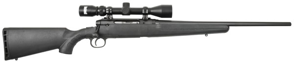 "Savage Axis Bolt 243 Winchester 20"" Black Synthetic Black"