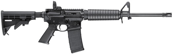 "Smith & Wesson M&P 15 Sport SA 223 Rem/5.56 NATO 16"" 30+1 6 Pt Collapsible Stk Black"