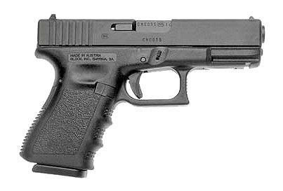 "Glock 19 Standard 9mm 4.02"" 10+1 w/FS Polymer Grip Matte Black"