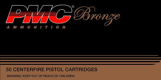 PMC 9A Bronze Target 9mm 115GR FMJ 50Box