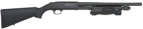 "Mossberg 590 Pump 12 Gauge 3"" Chamber 5+1 18.5"" Barrel Black Synthetic"