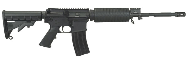 "Windham Weaponry SRC SA 223 Rem/5.56 NATO 16"" 30+1 6-Position Stock Black"